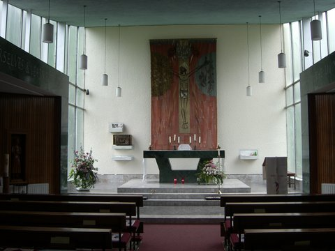 Blessed Sacrament Chapel used for weekday mass