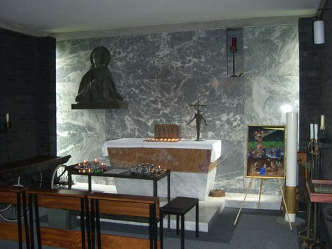 Holy Cross Chapel and 15th Station of the Cross