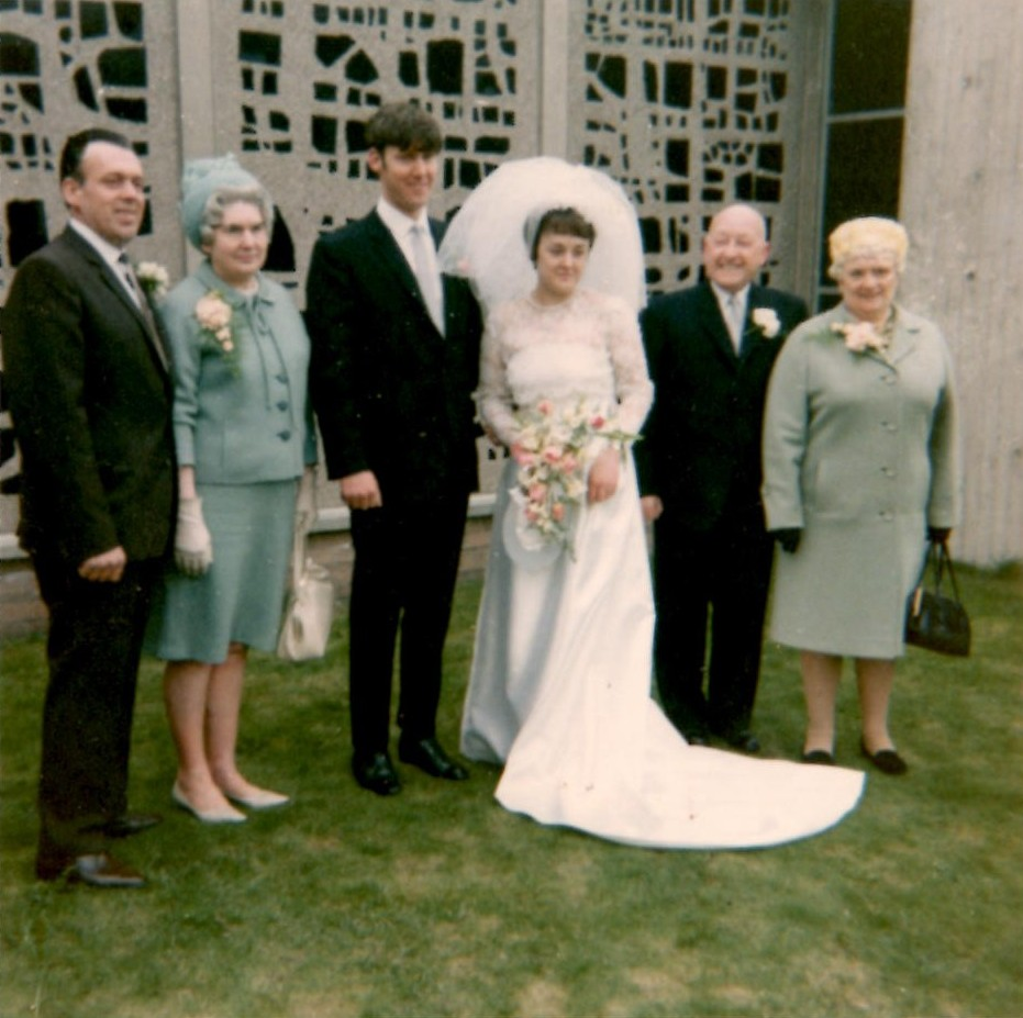 Wedding of Peter and Irene Orrell