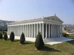 Reconstruction of the temple at Artemis. Paul caused a riot there! Acts 19