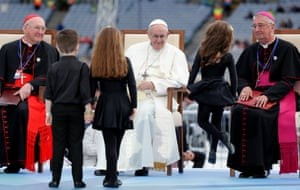 Pope Francis at Croke Park